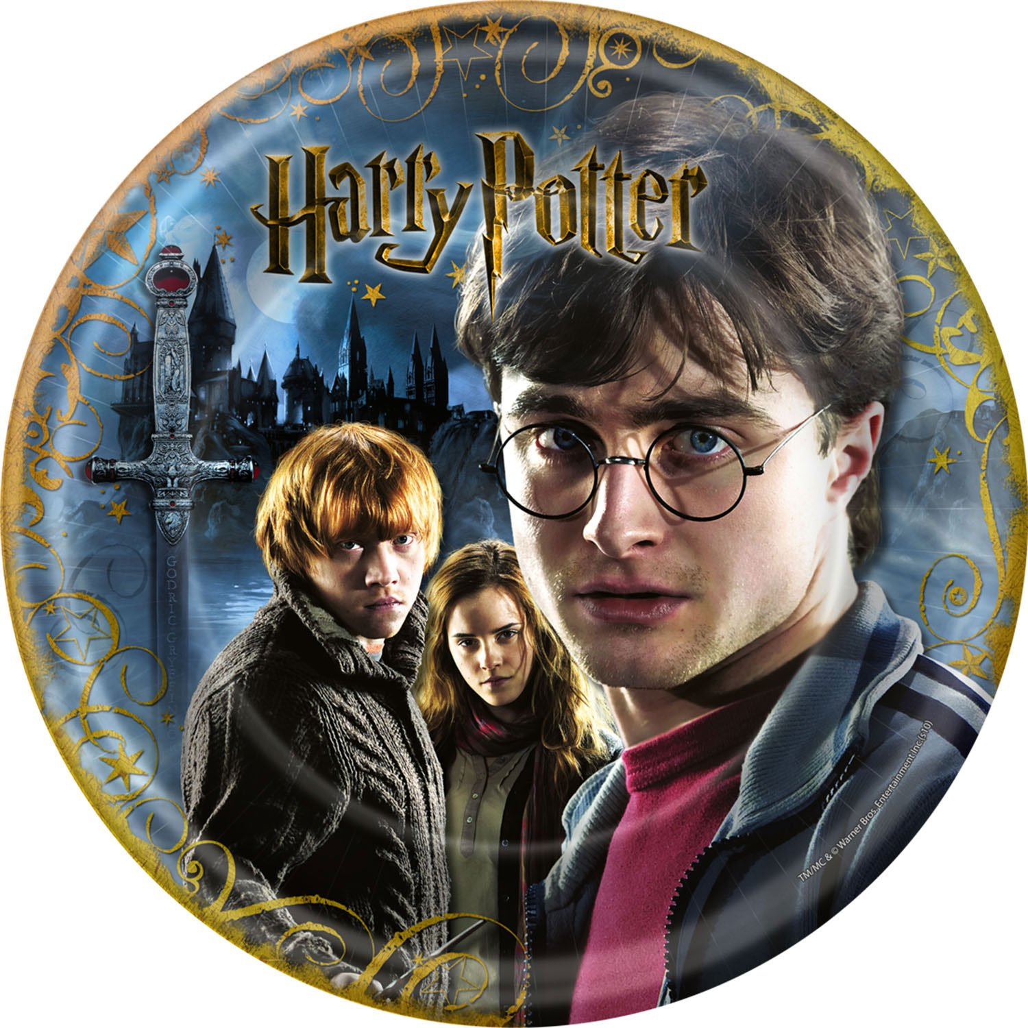 Harry Potter and the Deathly Hallows Dinner Plates 8ct
