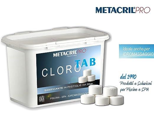 Cloro Tab 20 - sanificante a base de cloro (Tricloro ...