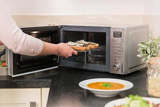 Russell Hobbs RHM2031 20 litros de acero inoxidable Microondas Digital con Grill: Amazon.es: Hogar