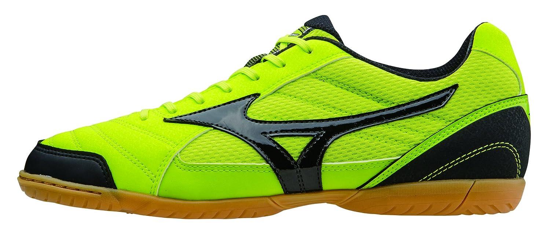 Mizuno Herren Hallenfußball Schuhe Sala Club 2 in Lime schwarz