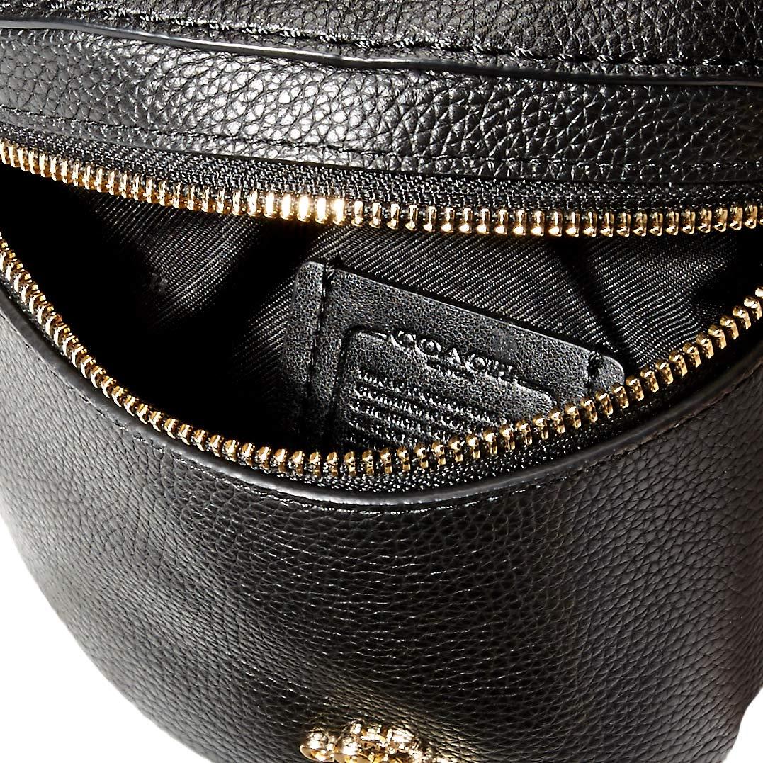 Amazon.com: Coach - Cinturón para mujer, Negro, talla única ...