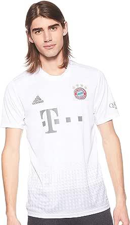 adidas FCB A JSY Camiseta 2ª Equipación Bayern Munich 2017-2018 Hombre: Amazon.es: Deportes y aire libre