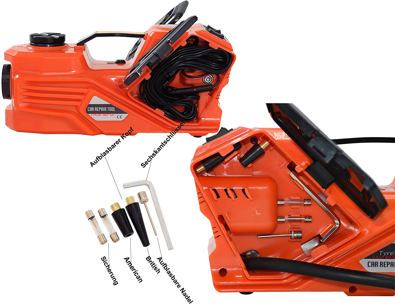 Llave de impacto el/éctrica YASI MFG/® Electric Hydraulic Jack 5T 15.5-45cm SUV