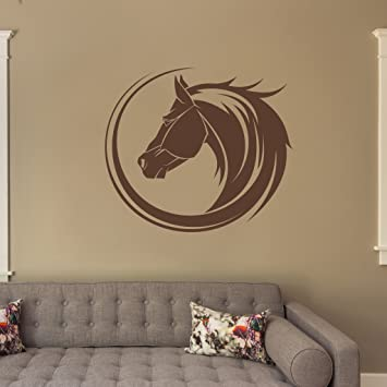 Horse Bust Wall Decal By Style Apply Wall Sticker Vinyl Wall Art