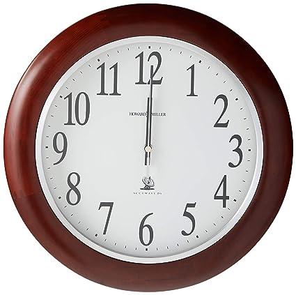 Amazon Com Howard Miller 625 259 Murrow Wall Clock Home Kitchen