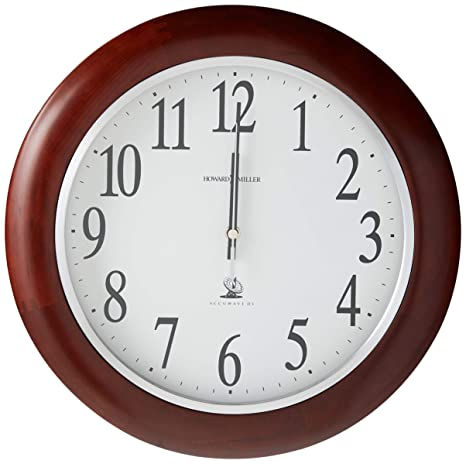 Amazon.com: Howard Miller 625 – 259 Murrow Reloj de pared ...