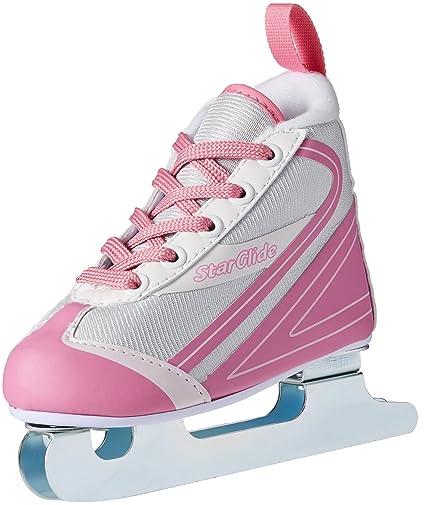 Skisport & Snowboarding Alpin 1 Lake Placid Starglide GirlS Double Runner Figure Ice Skate