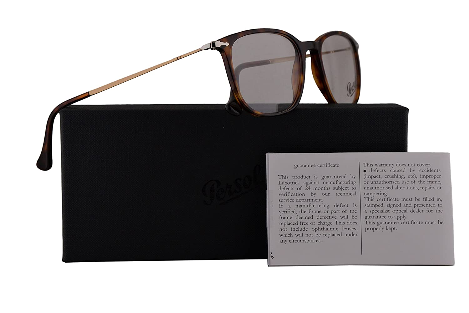 44450635f386 Amazon.com: Persol PO3146V Eyeglasses 53-19-140 Havana w/Demo Clear Lens 24  PO3146-V PO 3146-V PO 3146V: Clothing