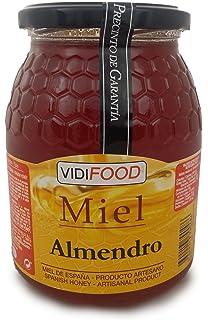 Miel de Almendro - 1kg - Producida en España - Alta Calidad, tradicional & 100
