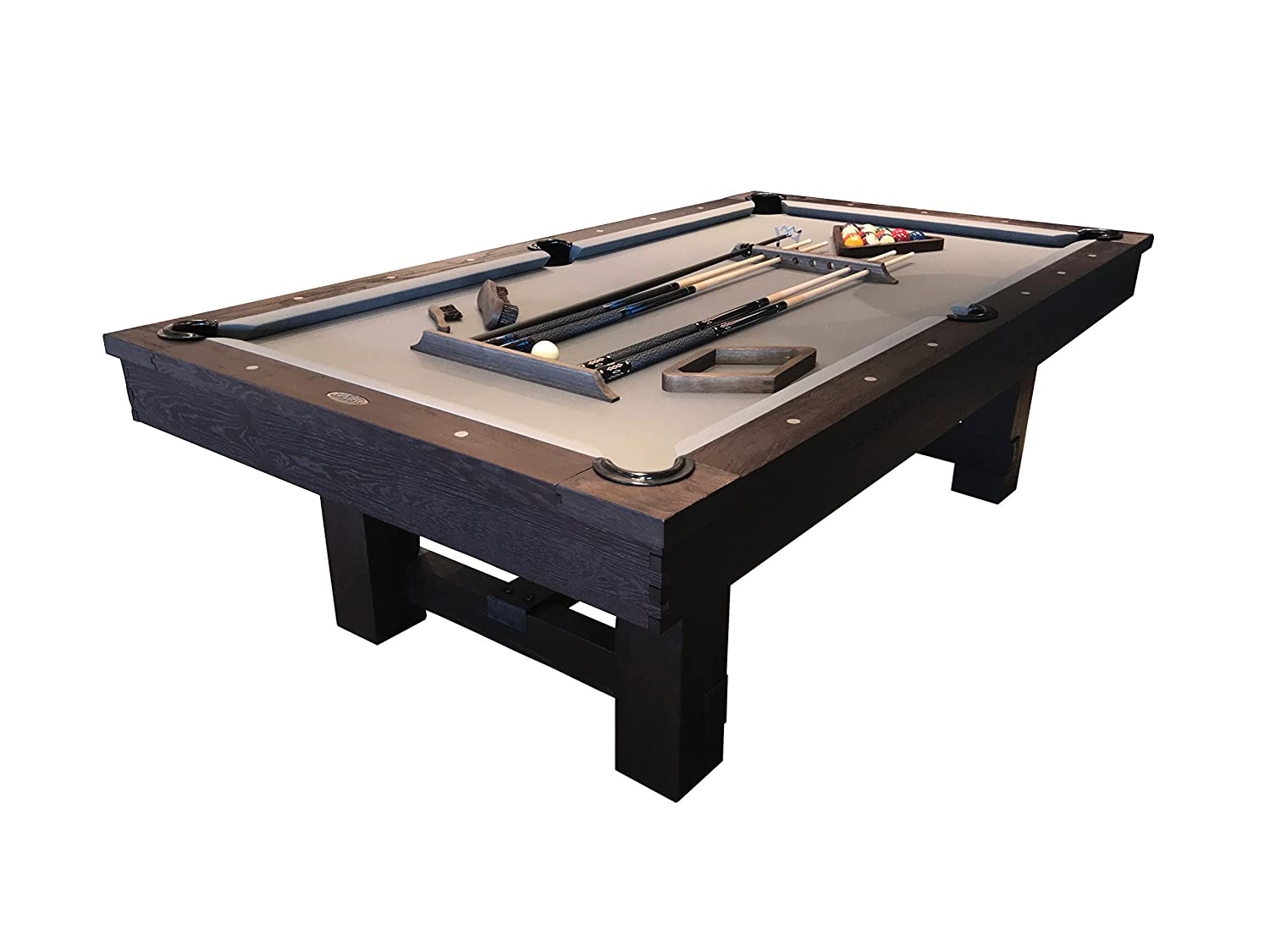 Amazoncom Imperial Reno Rustic Pool Table Ft Or Ft Felt - Hollywood billiard table for sale