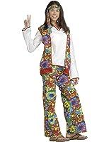 Forum Hippie Dippie Chick Woman's 60's Costume