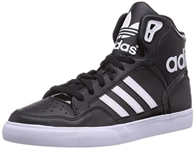 adidas m20863, le donne scarpe da basket, multicolore (cblack / ftwwht