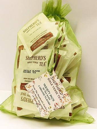 Shepherd S Organic Bible Verse Tea 60 Bag Variety Pack