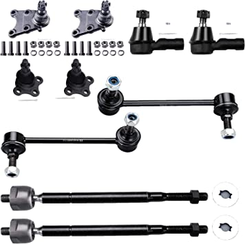 Fit 2001-2003 Chevy1500 4WD Ball Joints Tie Rod Ends Pitman Arm Idler Bracket