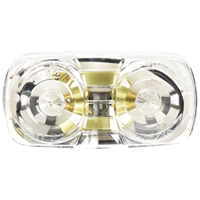 Grote 46791 Clear Two-Bulb Square Corner Utility Light: Automotive