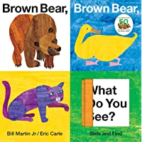 Brown Bear, Brown Bear, What Do You See? Slide and Find