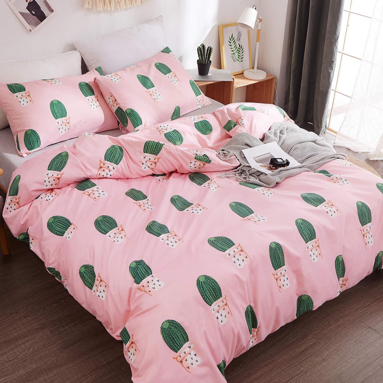 1 Duvet Cover+2 Pillowcases LAMEJOR Duvet Cover Sets Queen Starry Unicorn Bedding Set Comforter Cover