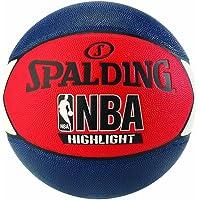 Spalding NBA Highlight Ballon de Basket Mixte