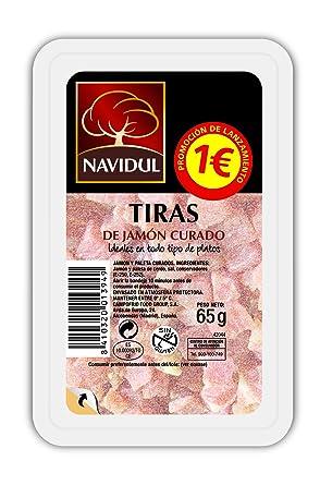 Navidul - Tiras de Jamón Curado, 65 gr