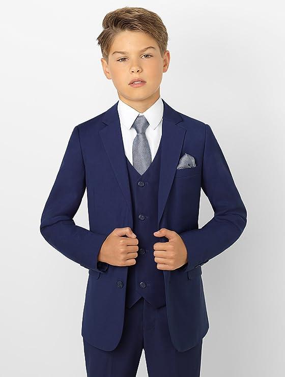 Paisley of London - Traje Azul de Vestir para niño: Amazon.es ...