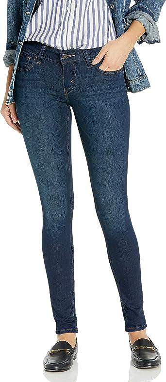 Amazon Com Levi S 535 Super Pantalones Vaqueros Ajustados Para Mujer Clothing