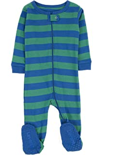 Size 6M-5Y Leveret Baby Girls Monkey Pink Footed Sleeper Pajama 100/% Cotton
