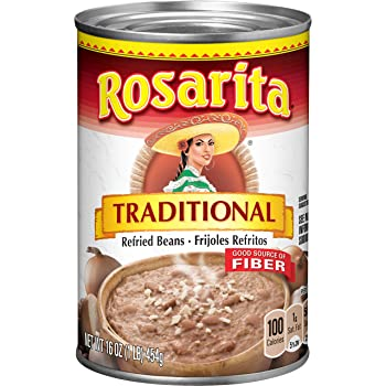 ROSARITA 16-Ounce Canned Refried Bean