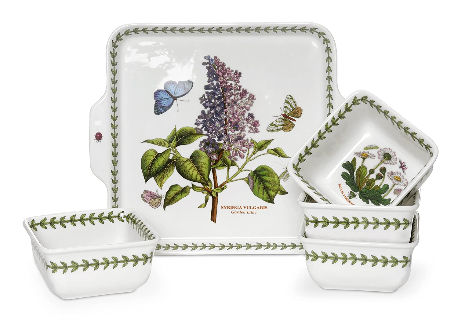 Portmeirion Botanic Garden 5-Piece Accent Bowl Set