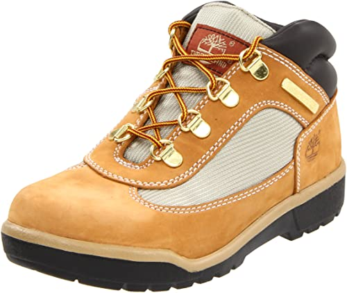 574bad569e44 Timberland Field Boot Leather Fabric Boot (Toddler Little Kid Big Kid)