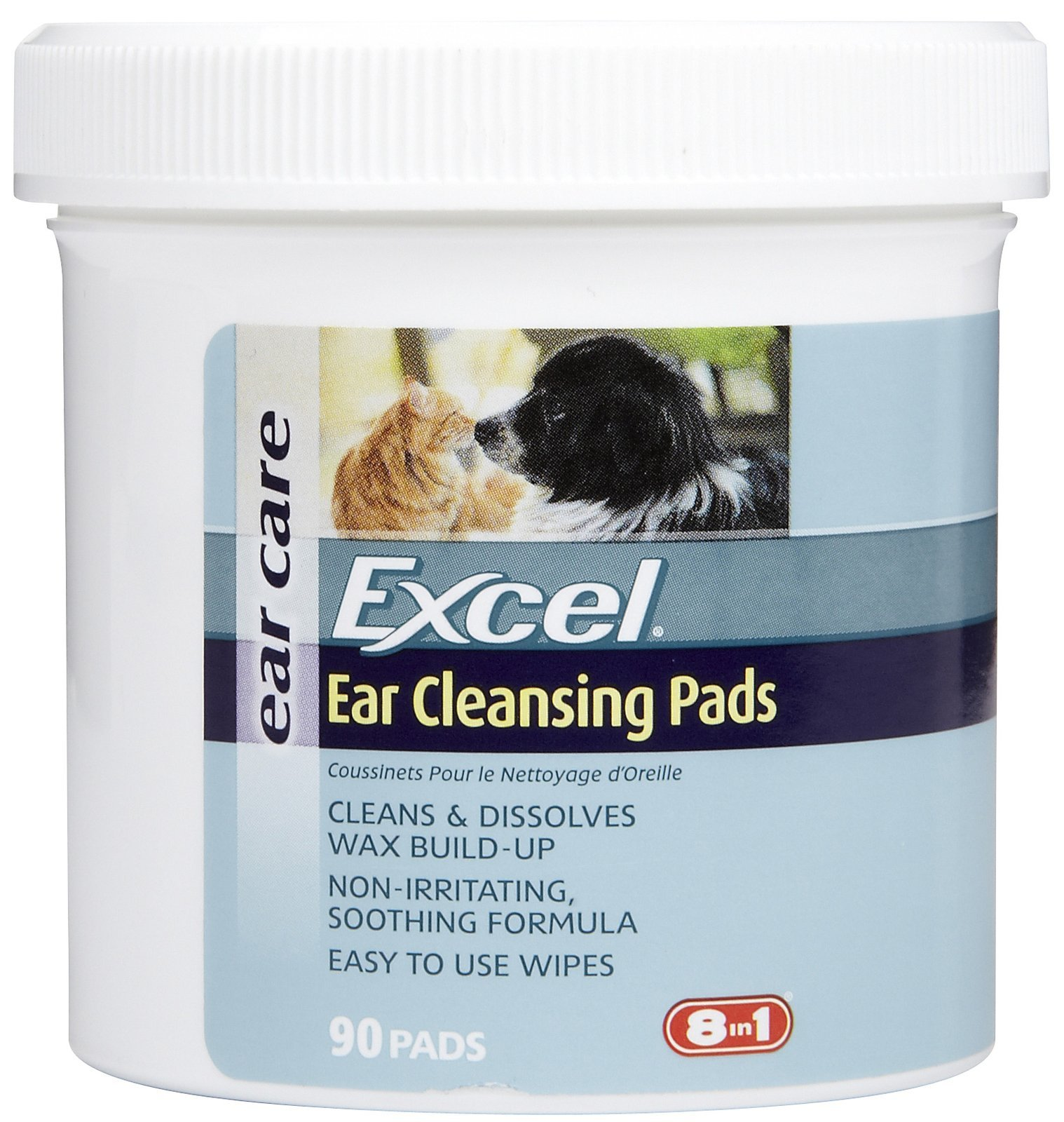 Ear Clear Ear Cleansing Pads For Cats & Dogs