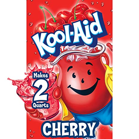Kool-Aid Cherry Flavored Unsweetened Caffeine Free Powdered Drink Mix (192 Packets)