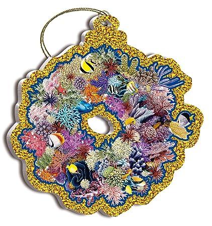 Amazon Coral Wreath By Mark Mackay Hawaiian Art Collectible
