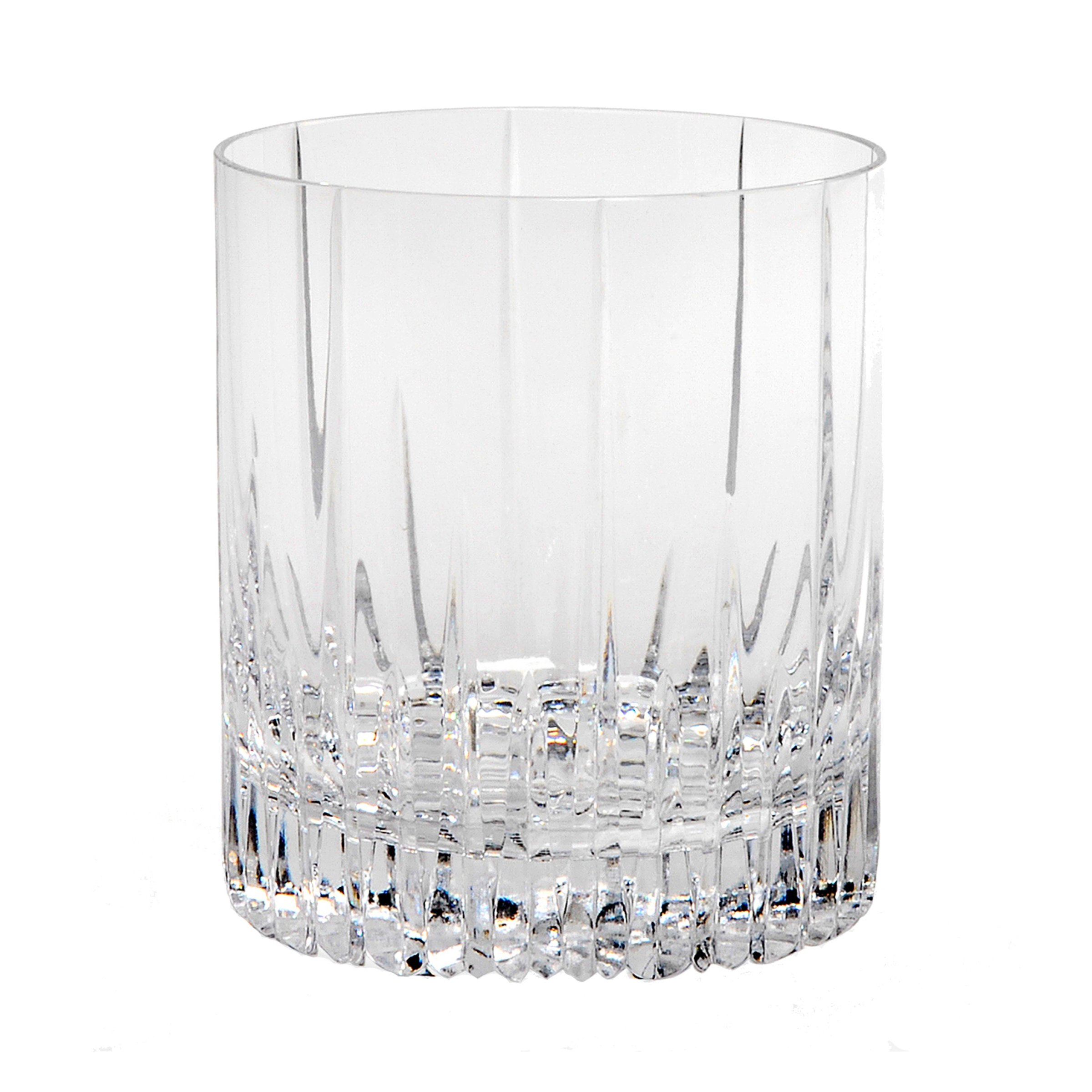 Mikasa Arctic Lights Crystal Double Old Fashioned, 11.5-Ounce (1 pc) (XY701-015)