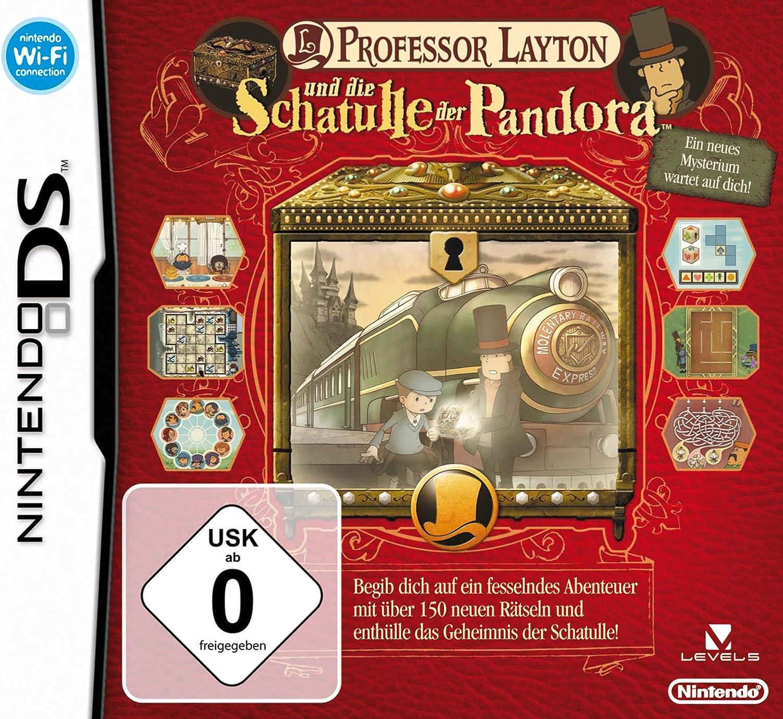 Professor Layton und die Schatulle der Pandora [Importación alemana]: Amazon.es: Videojuegos