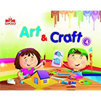 GIKSO Art and Craft Book - 4 Activity Book for Kids Age 7 to 10 Years Old Includes Colouring Activities