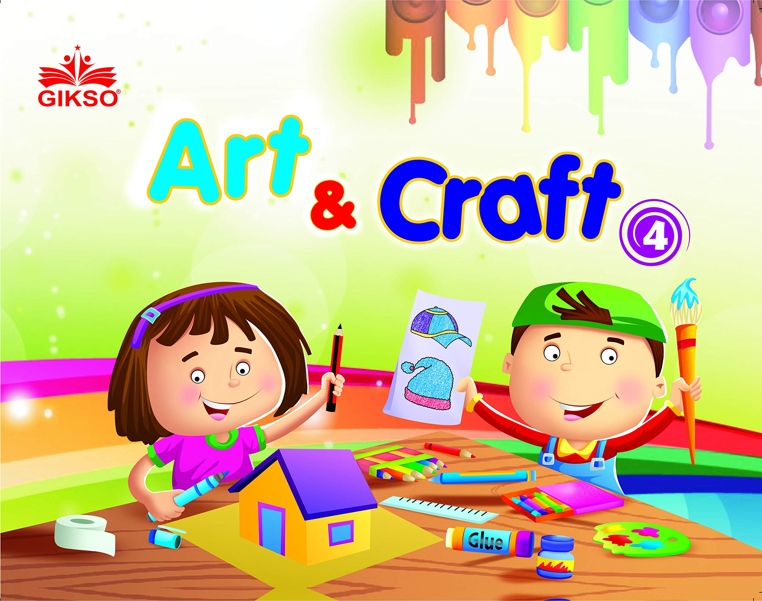 Buy Gikso Art and Craft Book - 4 Activity Book for Kids Age 7 to 10