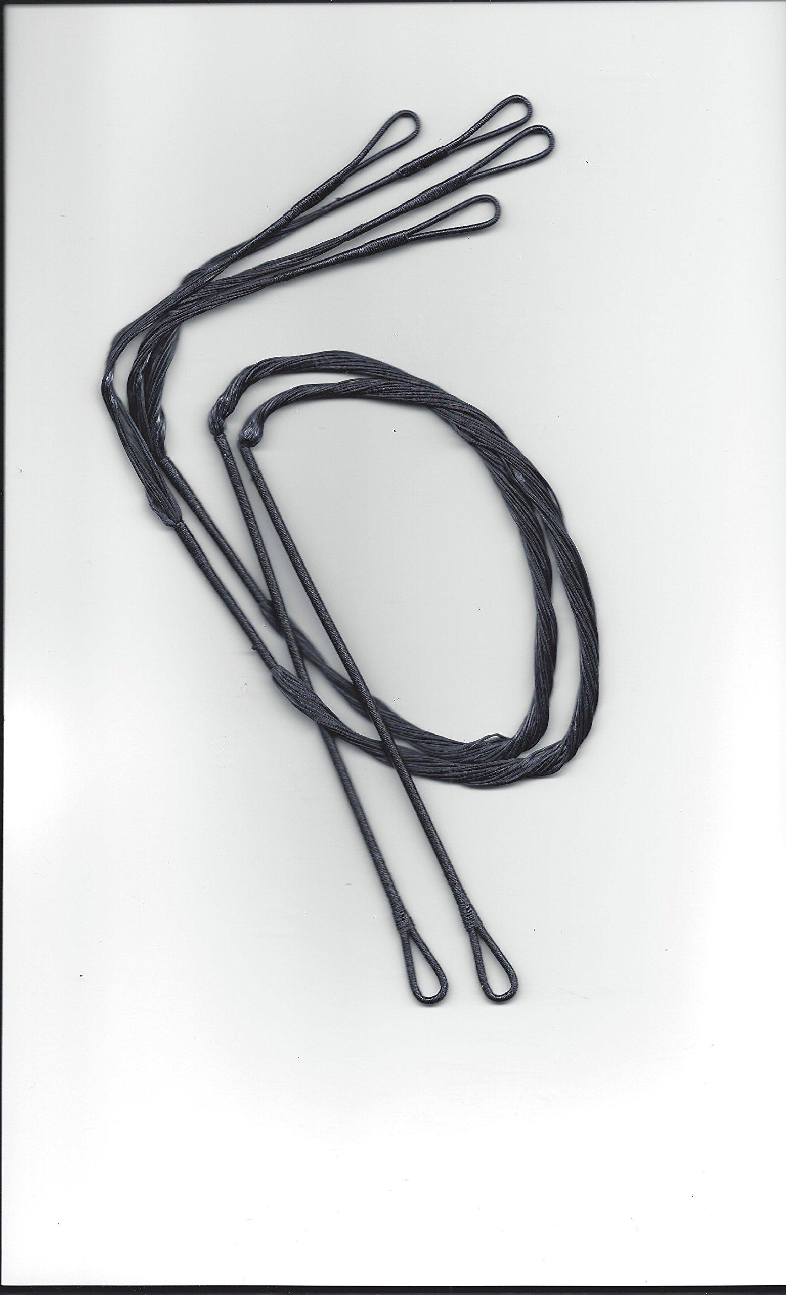 J and D Custom Strings 27.875'' Barnett Crossbow Cables for Jackel
