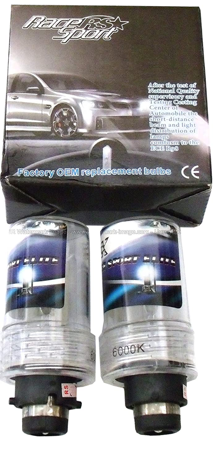 Race Sport RS-D412K-RB D4 OEM Factory HID Replacement Bulb Professional 3yr