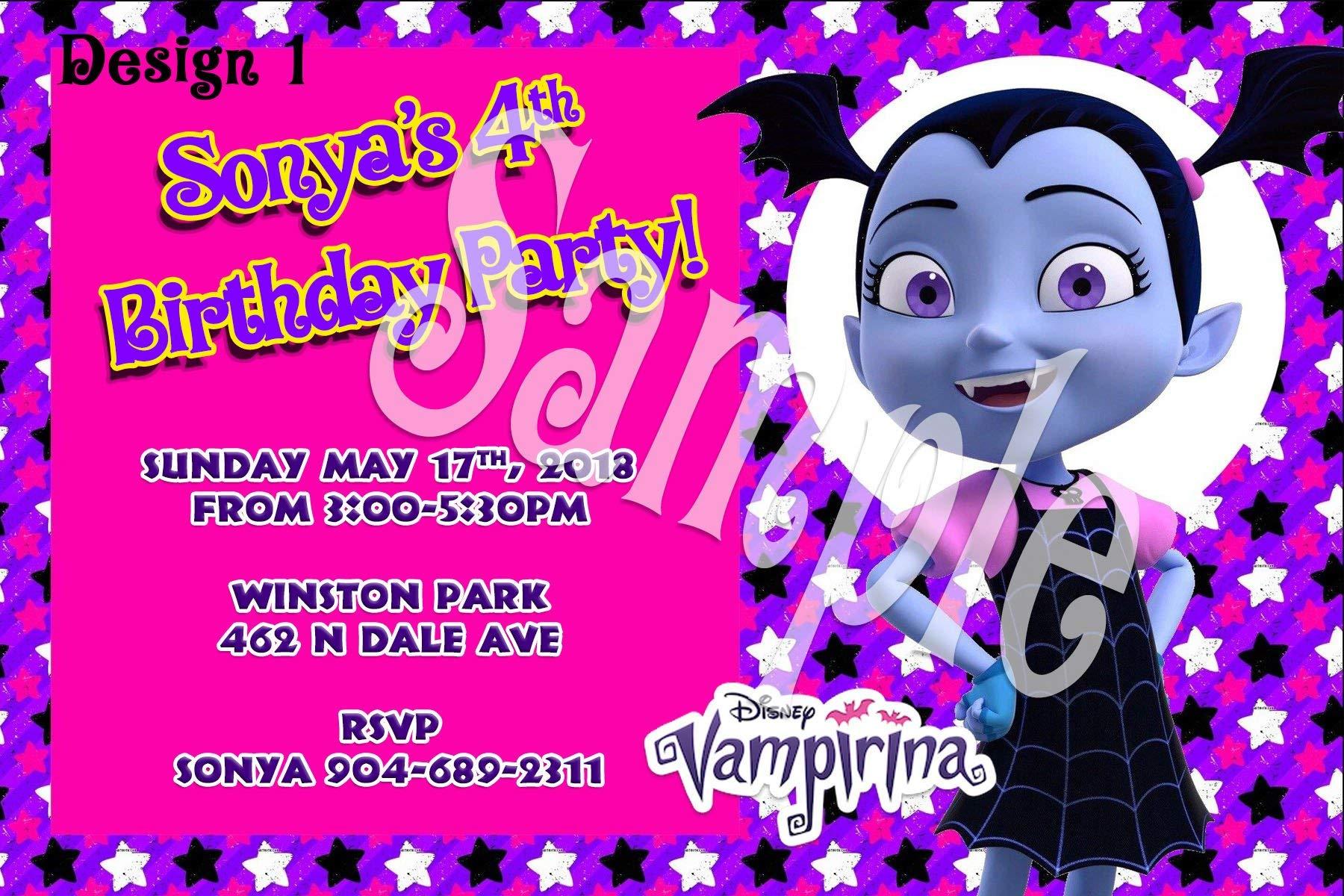 Vampirina Personalized Birthday Invitations More Designs Inside!