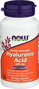 Now Foods, Hyaluronic Acid 100mg 2X, 60 Vegg Capsules