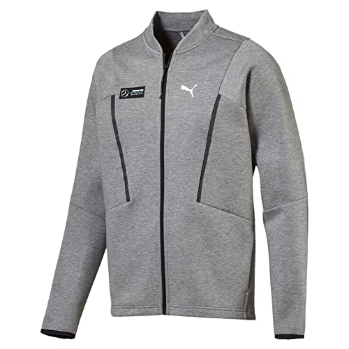 5849753e92b2 Puma MAPM Sweat Jacket Medium Gray Heather  Amazon.in  Shoes   Handbags