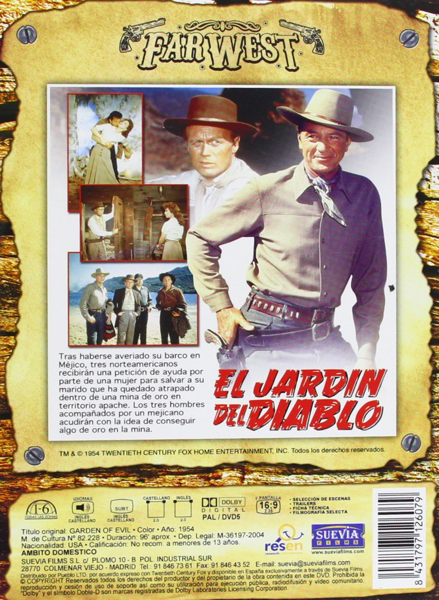 El Jardin Del Diablo [DVD]: Amazon.es: Varios: Cine y Series TV