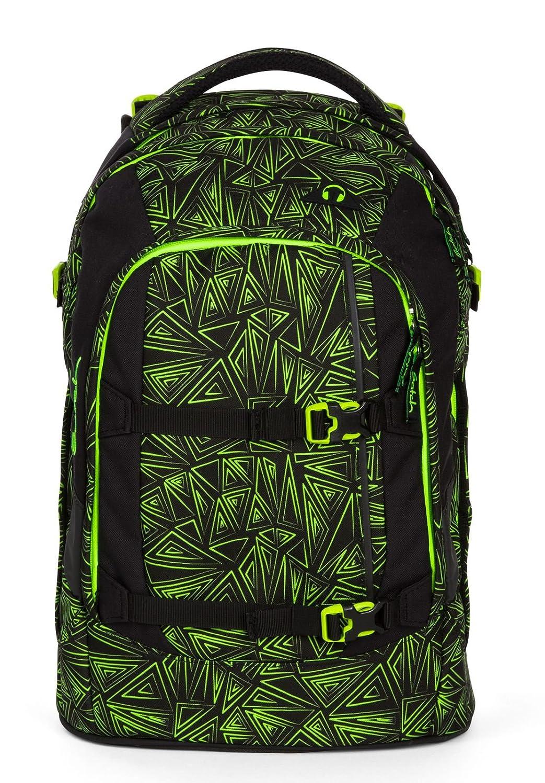 Satch Schulrucksack-Set 3-TLG Pack Grün Bermuda Grün