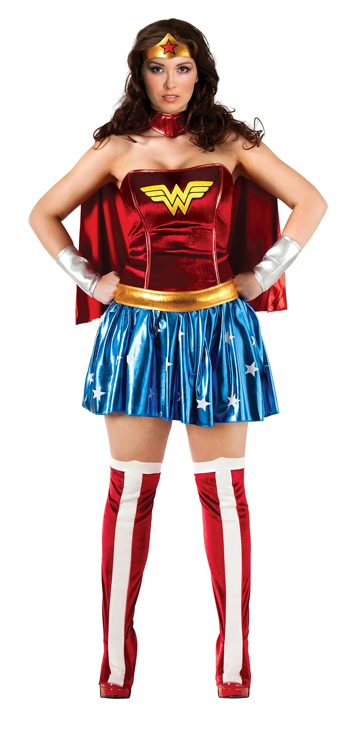 DC Comics Full Figure Wonder Woman Costume by Rubie's (Image #2)
