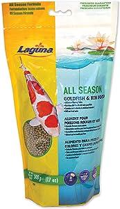 Laguna All Season Goldfish & Koi Floating Food, 17 oz