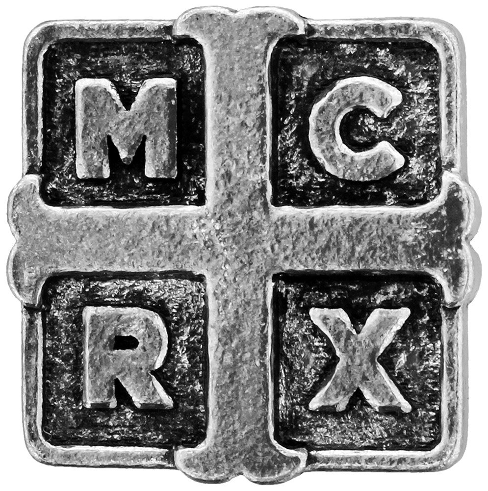 Alchemy Rocks My Chemical Romance Cross Pewter Pin Badge PC508