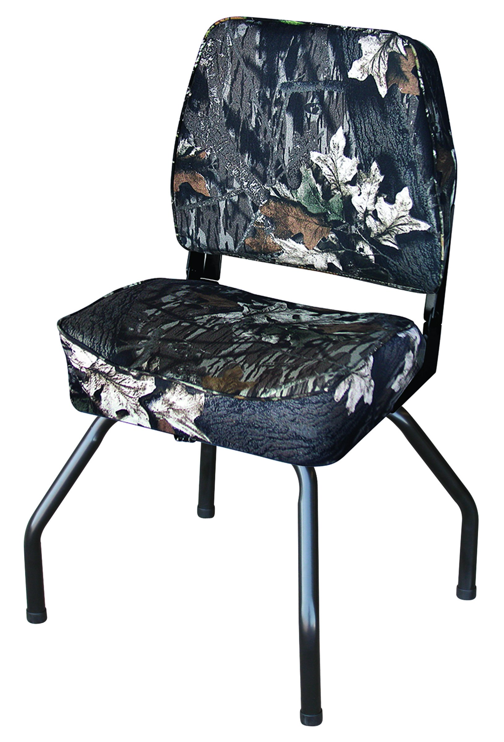Wise Outdoors WD305-763 Hunting Blind Seat Combo with Seat Stand and Swivel, Mossy Oak Break-Up Camo