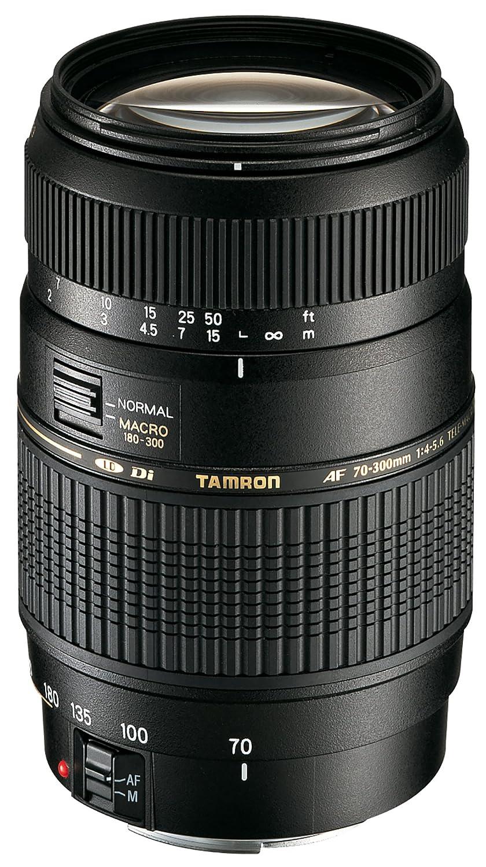 Tamron 70-300mm Di LD - Objetivo para Sony/Minolta (70-300mm, f/4-5.6, Macro, 62mm), color negro AF017S-700