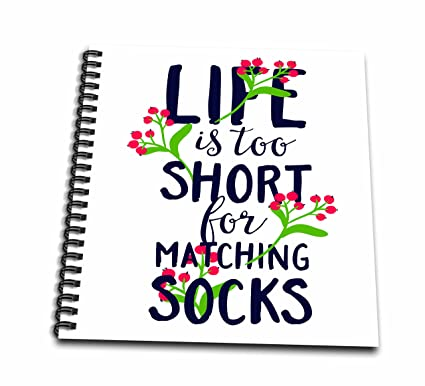 Amazoncom 3drose Db2541201 Life Is Too Short For