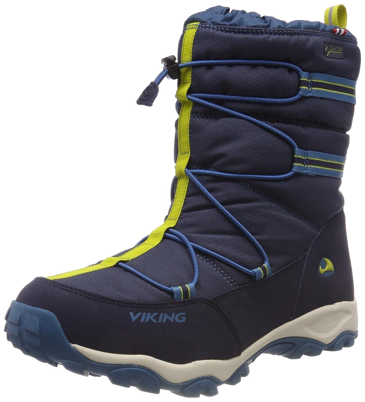 Bleu (Navy Petrol 555) Viking Tofte GTX, Chaussures Multisport Outdoor Mixte Enfant 33 EU